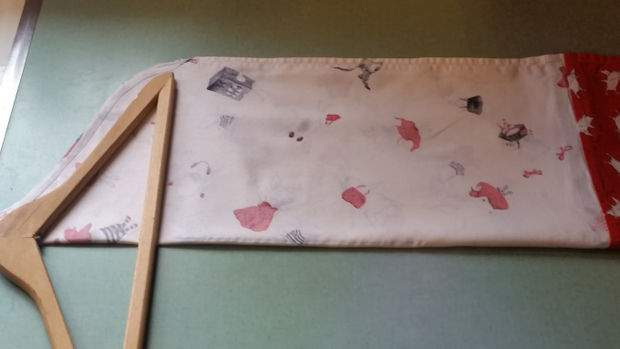 fabriquer sac de rangement pour couches maison