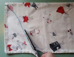 fabriquer sac de rangement pour couches