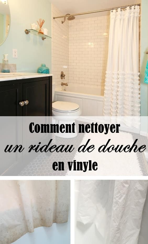 comment nettoyer un rideau de douche rideau de douche sale. Black Bedroom Furniture Sets. Home Design Ideas