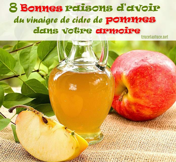 utilisations du vinaigre de cidre de pommes