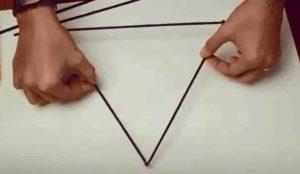 fabriquer un triangle déco