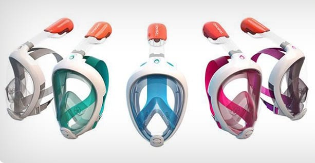 Masque Tribord couleurs