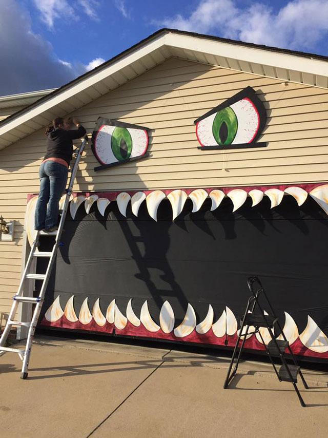 garage monstre