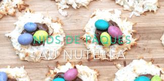 nids de Pâques au Nutella