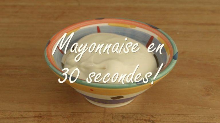 Mayonnaise Rapide